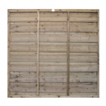 Double Lap Fencing Panel